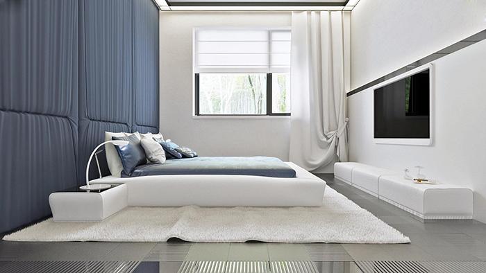 mẫu thiết kế biệt thự cấp 4 diện tích 93,6m2 - nội thất 8