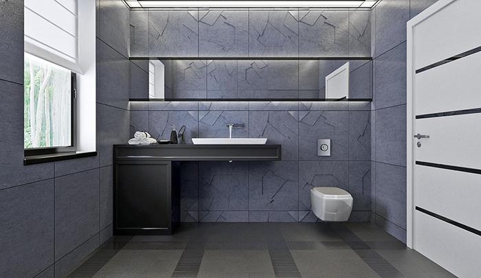 mẫu thiết kế biệt thự cấp 4 diện tích 93,6m2 - nội thất 9