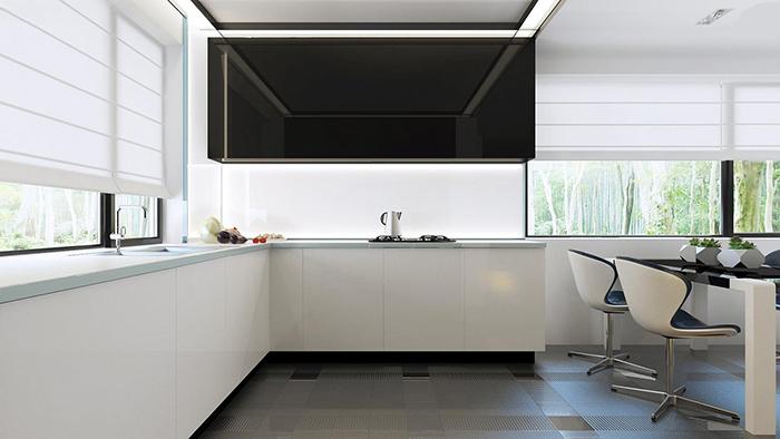 mẫu thiết kế biệt thự cấp 4 diện tích 93,6m2 - nội thất 5