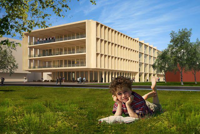 thiết kế thư viện công cộng xu hướng mở - 2