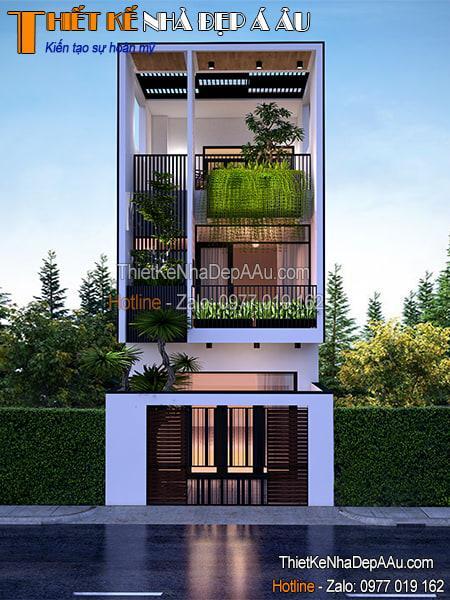 Nhà phố không gian xanh