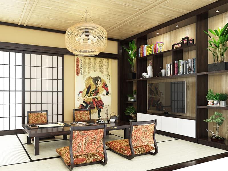 trang trí nội thất nhà phố 3 tầng
