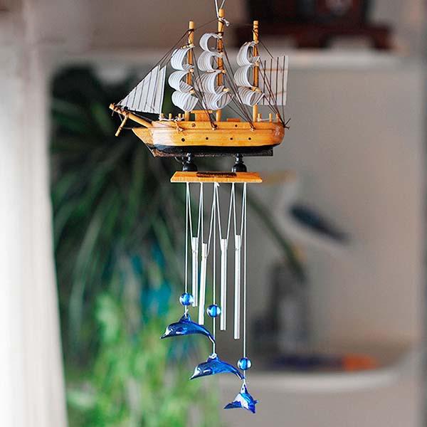Biện pháp hóa giải hướng nhà tuyệt mệnh trong phong thủy- treo chuông gió