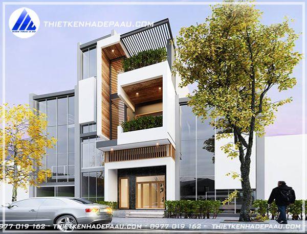 Tư vấn thiết kế nhà phố 2 tầng 1 tum