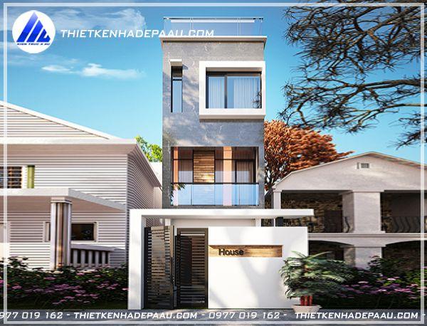 Tư vấn thiết kế nhà phố 3 tầng 100m2 hiện đại đẹp