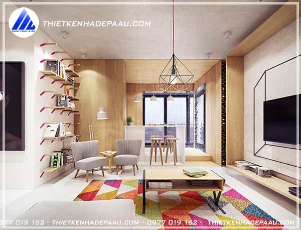 Thiết kế nội thất căn hộ chung cư có diện tích nhỏ