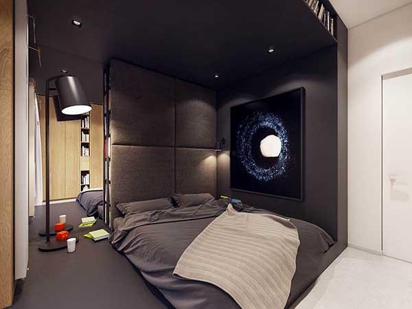 Thiết kế nội thất căn hộ chung cư 90m2 với những màu sắc rực rỡ- 13