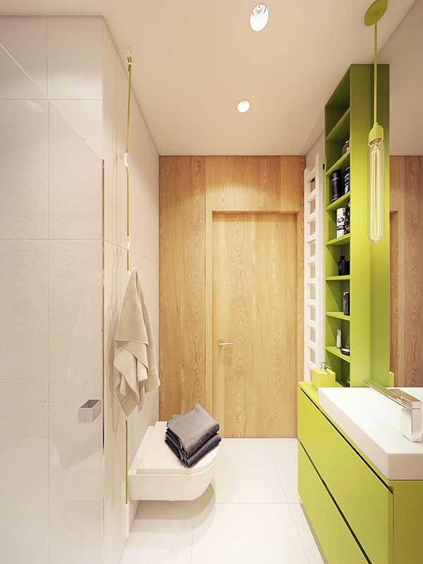 Thiết kế nội thất căn hộ chung cư 90m2 với những màu sắc rực rỡ- 15