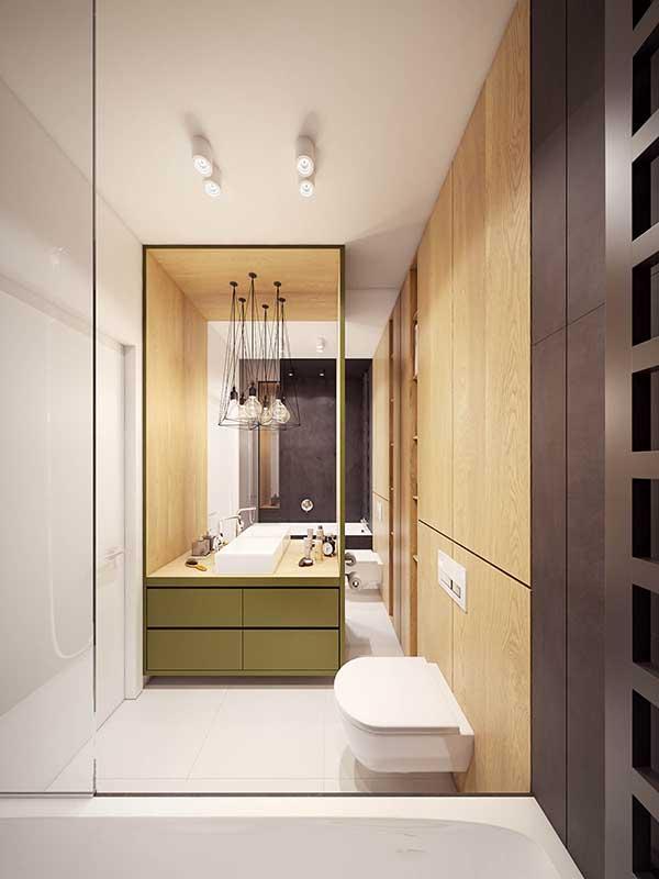 Thiết kế nội thất căn hộ chung cư 90m2 với những màu sắc rực rỡ- 16