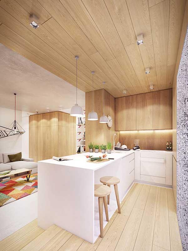 Thiết kế nội thất căn hộ chung cư 90m2 với những màu sắc rực rỡ- 7