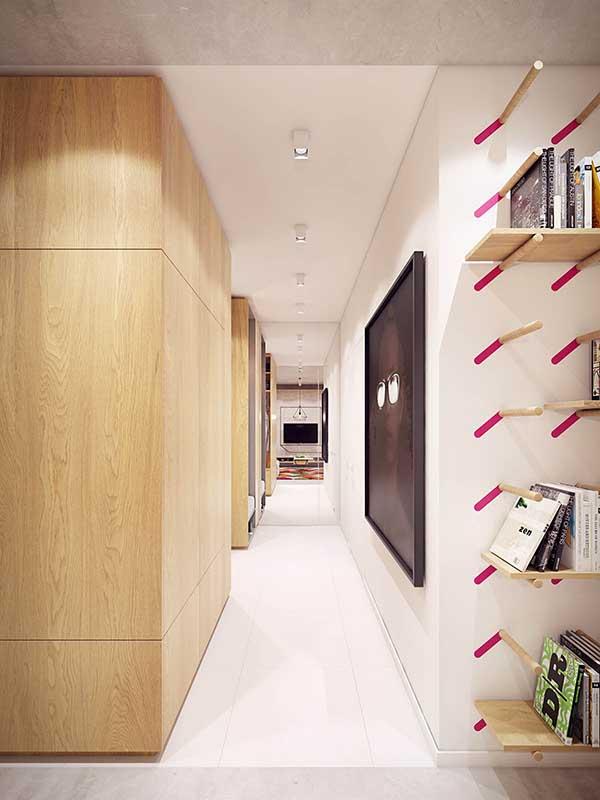 Thiết kế nội thất căn hộ chung cư 90m2 với những màu sắc rực rỡ- 8