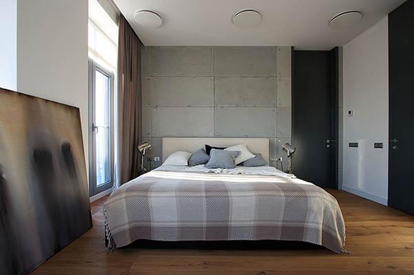 Thiết kế nội thất căn hộ chung cư xanh 110m2- 4