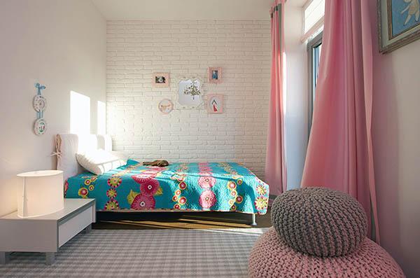 Thiết kế nội thất căn hộ chung cư xanh 110m2- 7