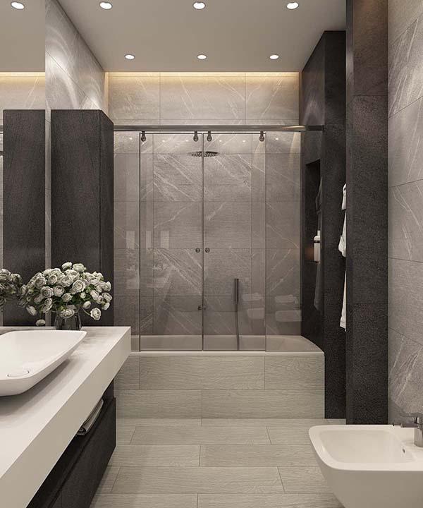 Thiết kế nội thất căn hộ chung cư 100m2 phong cách hiện đại- 12