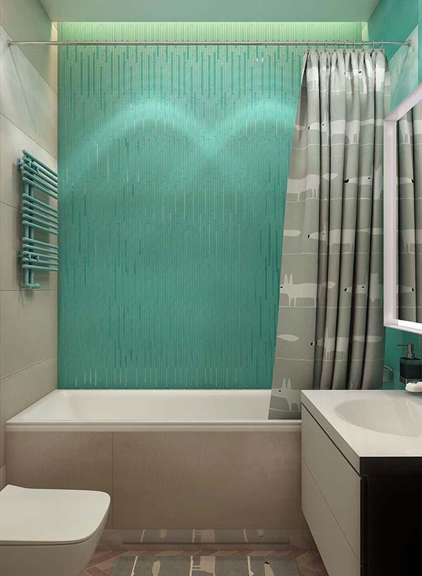 Thiết kế nội thất căn hộ chung cư 100m2 phong cách hiện đại- 14