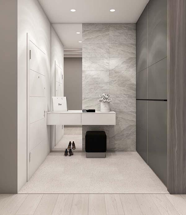 Thiết kế nội thất căn hộ chung cư 100m2 phong cách hiện đại- 15