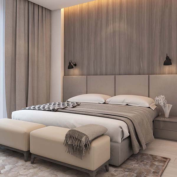 Thiết kế nội thất căn hộ chung cư 100m2 phong cách hiện đại- 6