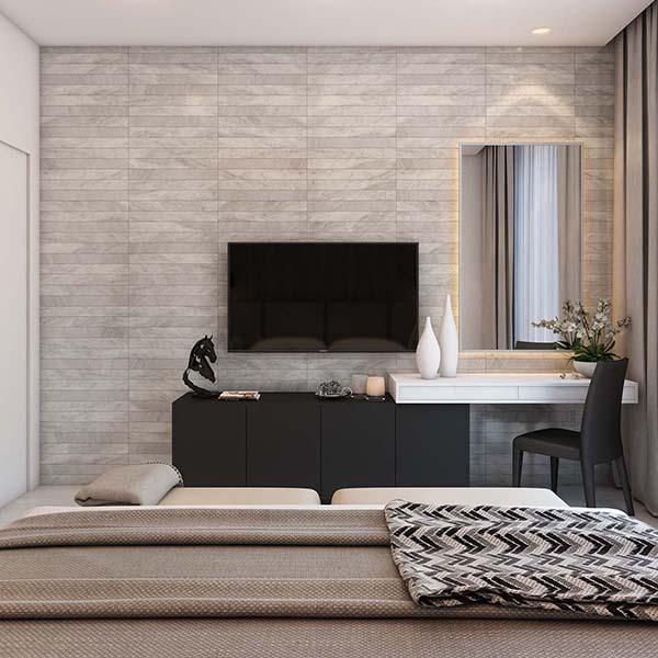Thiết kế nội thất căn hộ chung cư 100m2 phong cách hiện đại- 7