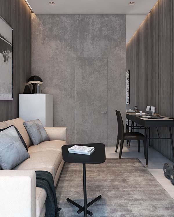 Thiết kế nội thất căn hộ chung cư 100m2 phong cách hiện đại- 8