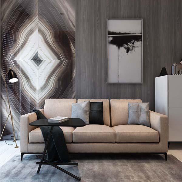 Thiết kế nội thất căn hộ chung cư 100m2 phong cách hiện đại- 9