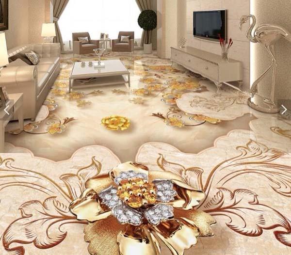 Xu hướng sử dụng gạch lát sàn 3d trong trang trí nội thất nhà ở- 1