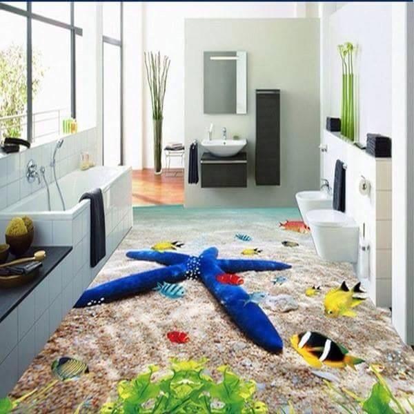 Xu hướng sử dụng gạch lát sàn 3d trong trang trí nội thất nhà ở- 19