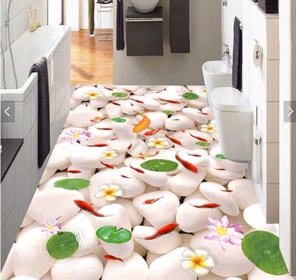 Xu hướng sử dụng gạch lát sàn 3d trong trang trí nội thất nhà ở- 2