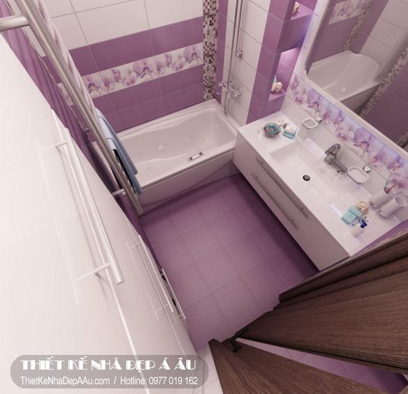 Phòng tắm đẹp tiện nghi