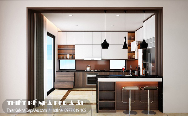 Cách bài trí nội thất nhà bếp đẹp
