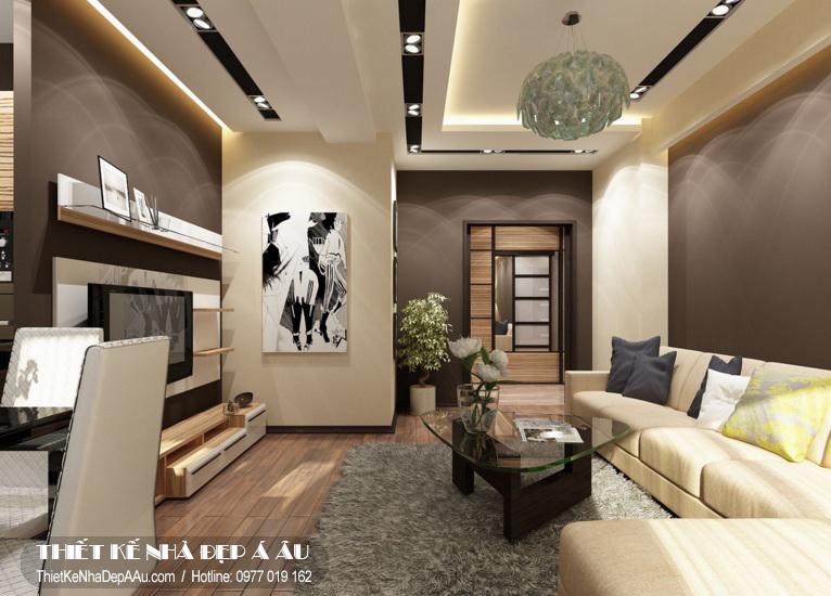 Xu hướng thiết kế phòng khách theo phong cách hiện đại.