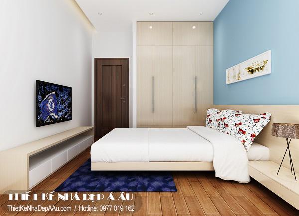 Thiết kế phòng ngủ cho bố mẹ.