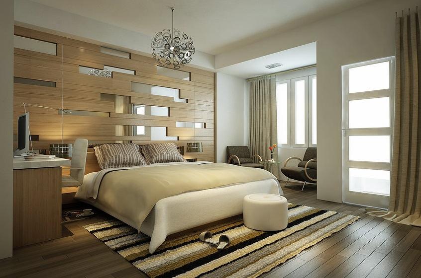 phòng ngủ đón ánh sáng tự nhiên rất tốt cho sức khỏe