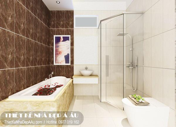 Nội thất nhà tắm hiện đại.