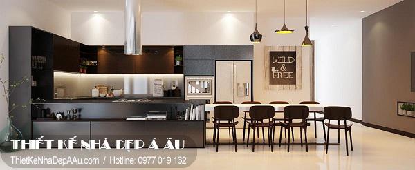 phòng bếp và phòng ăn đep