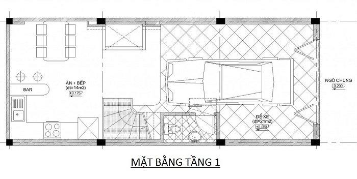 Ban ve phoi canh tang 1