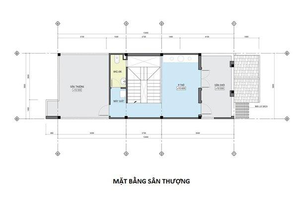 Thiết kế bản vẽ chi tiết mặt bằng tầng 4