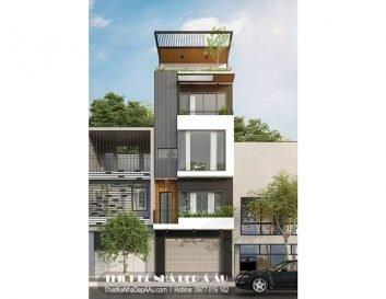 Lên phương án thiết kế mẫu nhà phố trên diện tích 50m2