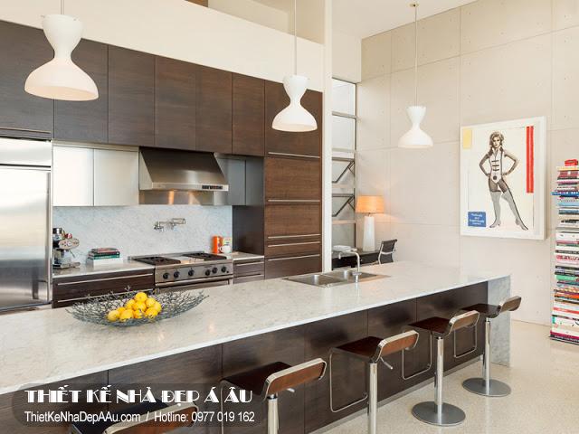 hình ảnh không gian nhà bếp
