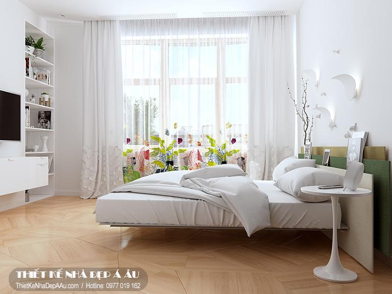 Trang trí phòng ngủ tận dụng ánh sáng tự nhiên