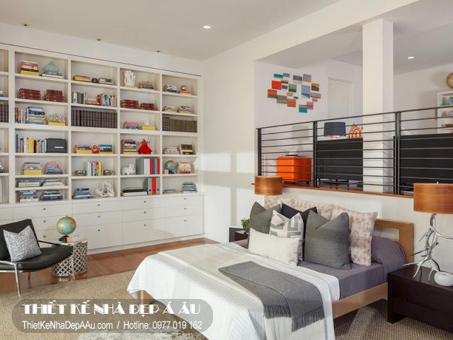 phòng ngủ nhỏ dành cho bé