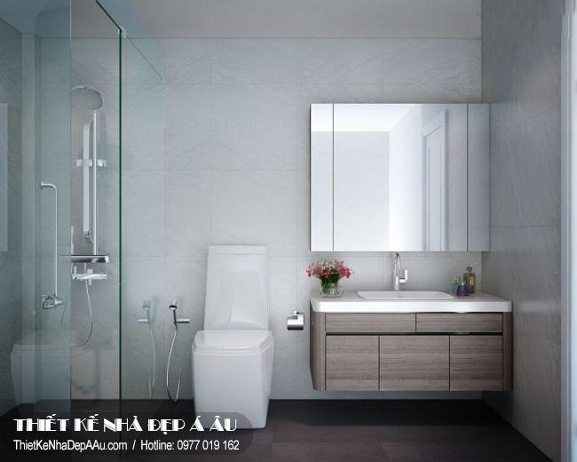 nhà tắm và vệ sinh hiện đại