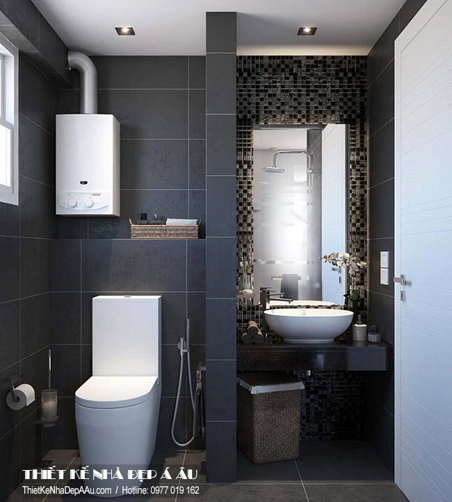 Trang trí nội thất nhà tắm kết hợp nhà vệ sinh