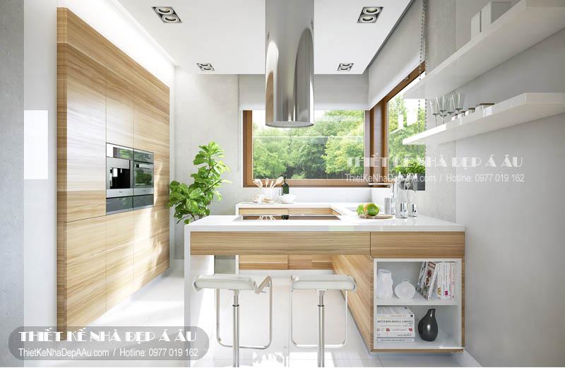 hình ảnh nội thất bếp và phòng ăn