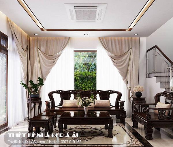 không gian nội thất phòng khách sang trọng
