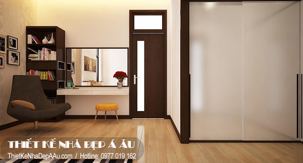 Với những không gian nhỏ hẹp việc thiết kế môt phòng làm việc tiện nghi và đẹp là điều không hề đơn giản
