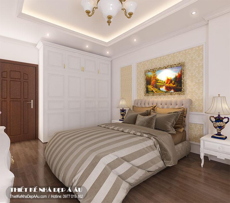 không gian nội thất của phòng ngủ thứ 3