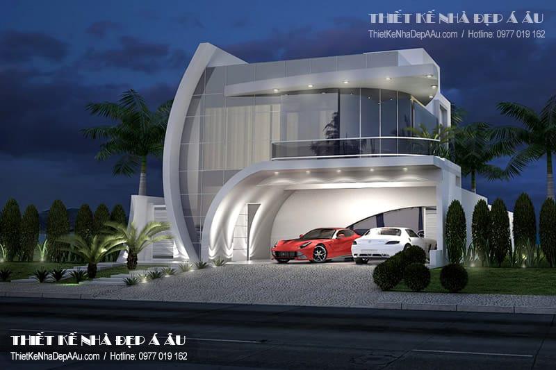 Tư vấn lên phương án thiết kế căn biệt thự phố hiện đại đẹp