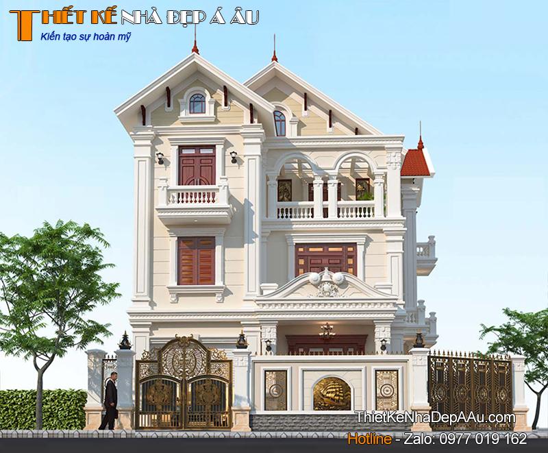 Nhà 3 tầng 2 mặt tiền