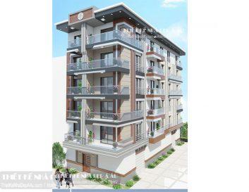 Phương án thiết kế căn chung cư mini đẹp