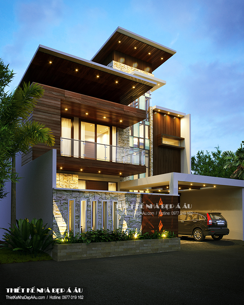Phương án thiết kế khách sạn mini đẹp